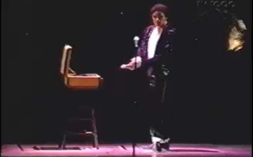 Michael Jackson - 1997 - Billie Jean - Screenshot von youtube.com
