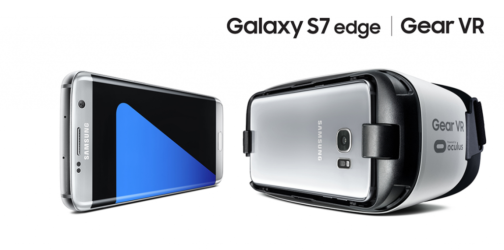 S7 edge und Gear VR